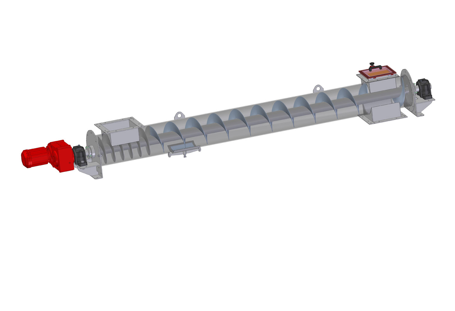 Tube screw conveyor (TRSN)